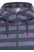 Bergans Humle Jacket Lady Navy/Dusty Blue Striped/Hot Pink